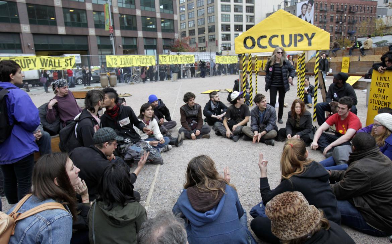 Manifestanti di Occupy Wall Street