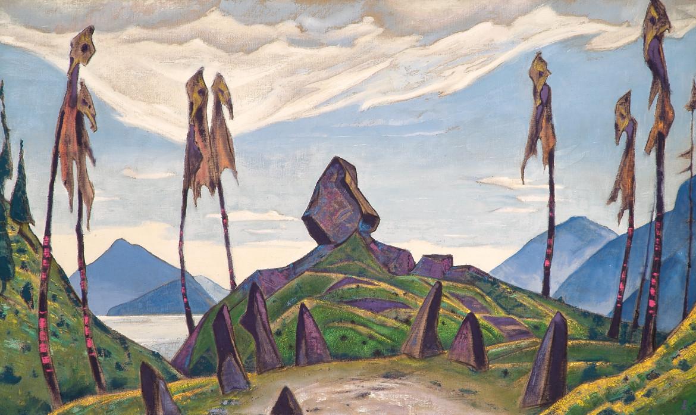 Nikolaj Roerich,  bozzetto  per «Le Sacre  du printemps»,  di Igor Stravinskij, 1911-13