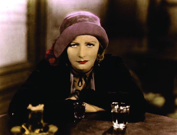 Greta Garbo in Anne Christie di George Cukor