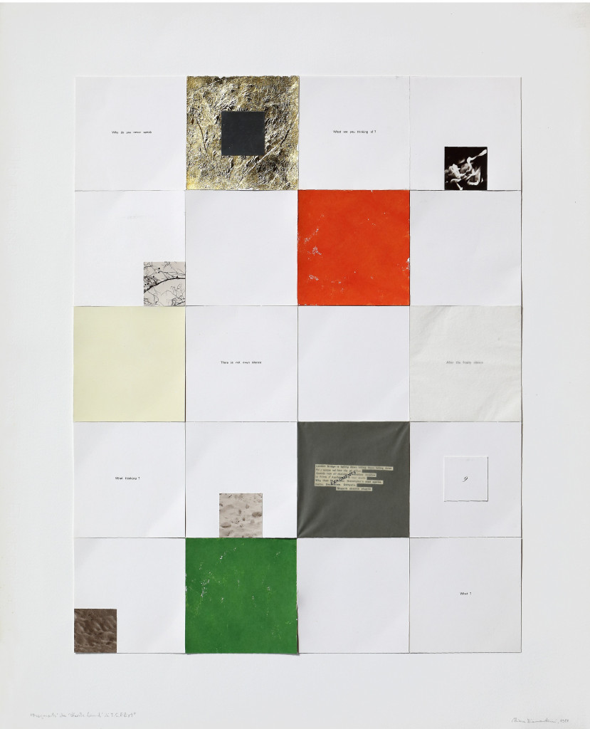 Chiara Diamantini, Frammenti, 1987