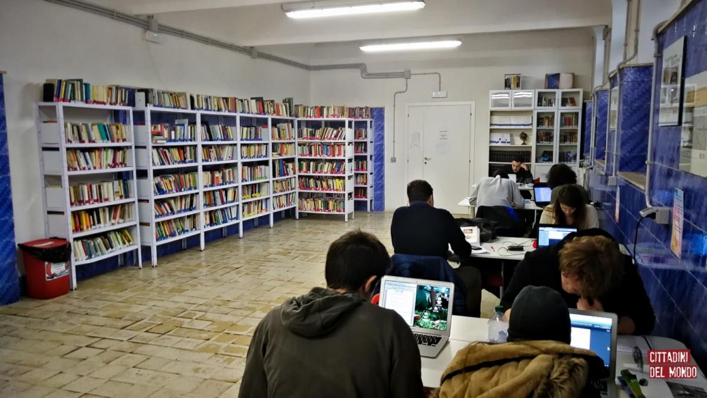 La biblioteca interculturale Cittadini del Mondo al Quadraro
