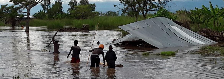 Una recente alluvione in Burundi