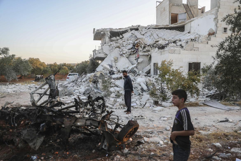 Siria, macerie a Idlib