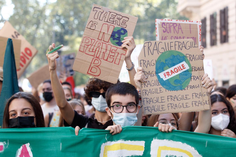 Fridays for future a Roma