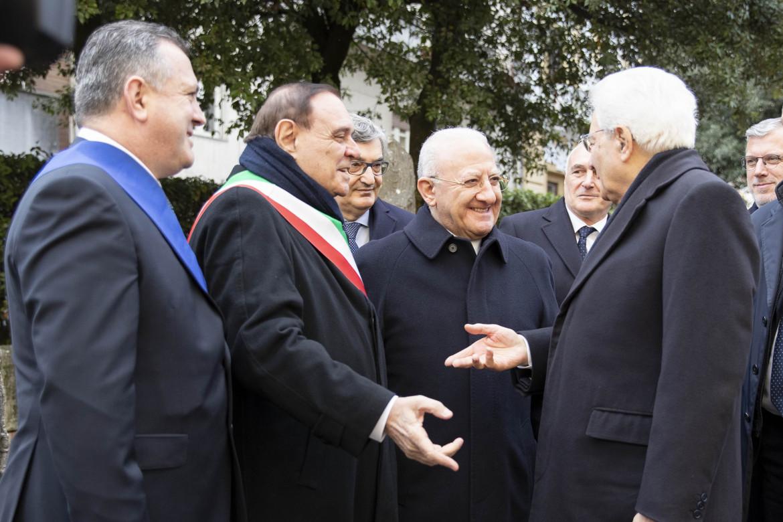 Clemente Mastella e Vincenzo De Luca