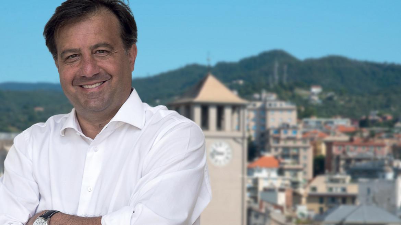 Il candidato sindaco del centrosinistra Marco Russo