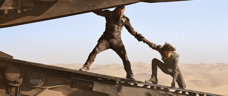 Josh Brolin e Timothée Chalamet in una scena di «Dune»