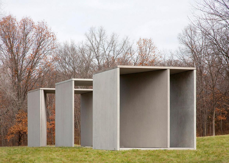 Donald Judd, Untitled, 1984, Laumeier Sculpture Park, Saint Louis, Missouri, Stati Uniti