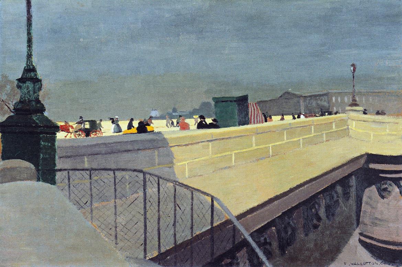 Félix Vallotton,  Le Pont-Neuf, 1901, Winterthur, Kunstmuseum