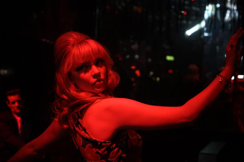 Anya Taylor in una scena di «Last Night in Soho»