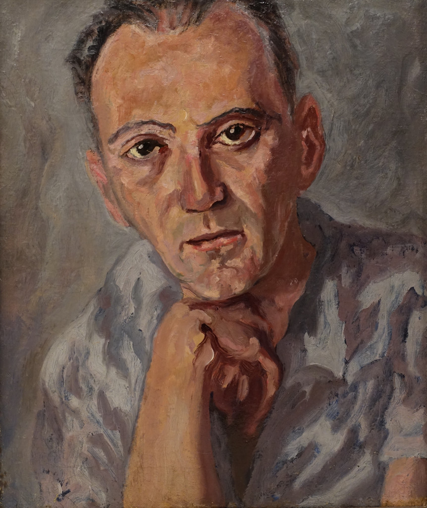 Carlo Levi,  Ritratto di Bobi Bazlen,  1941, Roma,  Fondazione Carlo Levi