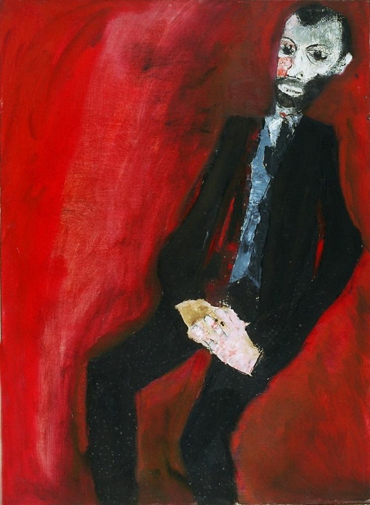 Mario Lattes, Ritratto di Mario Lattes, 1959, collezione privata.  Si ringrazia la Fondazione Bottari Lattes