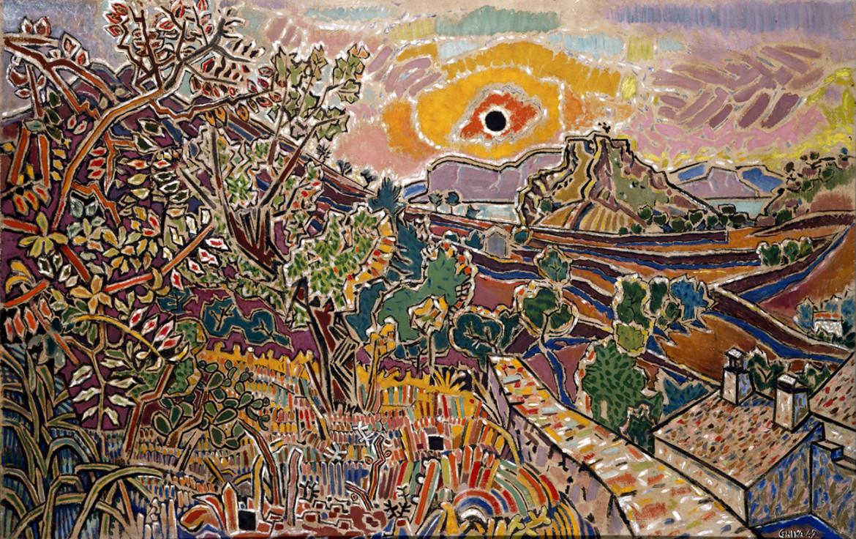 Nikos Hadjikyriakos-Ghika, Il sole nero, 1947, Atene, Museo Benaki