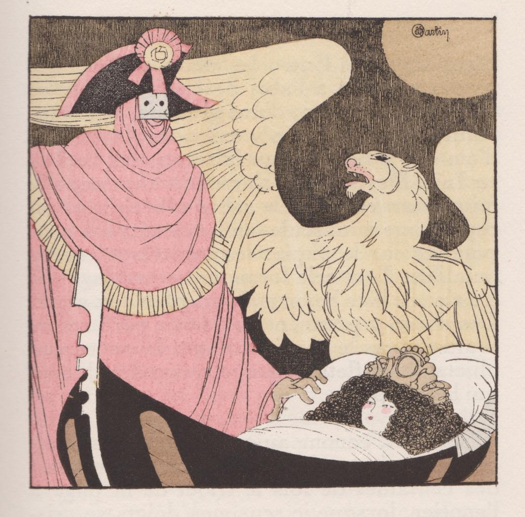 Una delle illustrazioni  di Charles Martin  per i Contes vénitiens pubblicati in Francia  nel 1927 da Le Livre