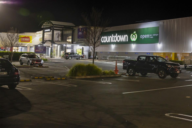 Il supermercato dove è avvenuto l'attentato, Auckland in Nuova Zelanda