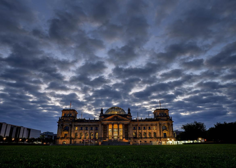 Il Reichstag a Berlino