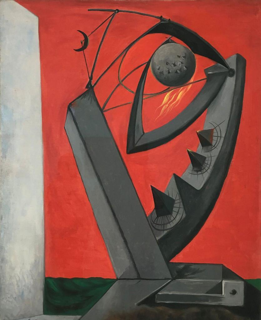 André Masson, «La piège à soleil», 1938