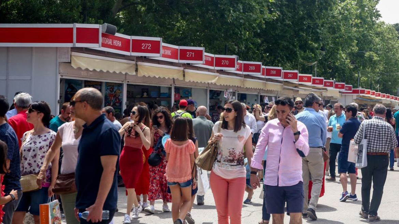 Un'immagine della Feria del Libro di Madrid