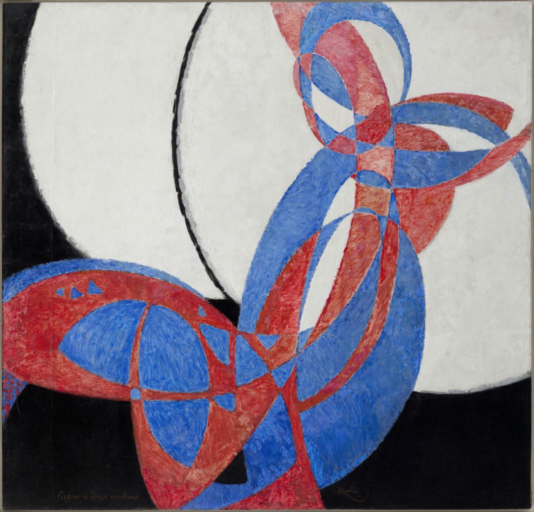 Frantisek Kupka, Amorpha fugue en deux couleurs fugue in two colors (1912)