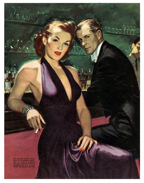 Un'illustrazione del 1949 di Walter Skor