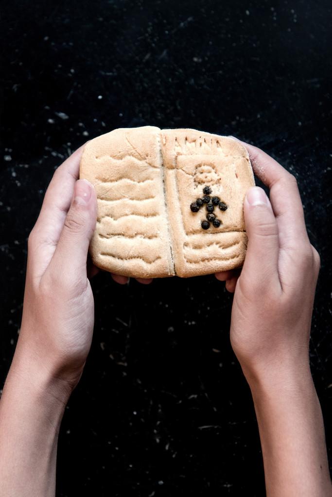 Il pane del desiderio di Amina (foto Ilaria Turba)