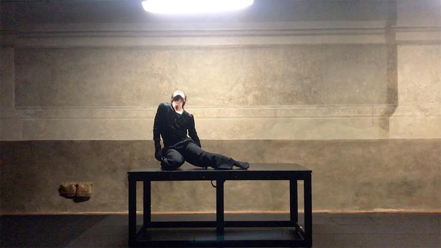 Piano Solo/ Corpo Solo di e con Claudia Caldarano