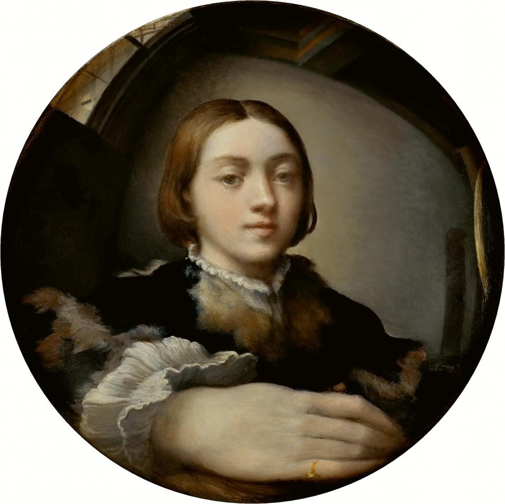 Parmigianino, Autoritratto entro uno specchio convesso