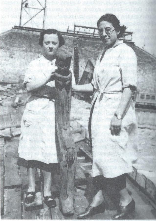 Denise Paulme e Deborah Lifchitz