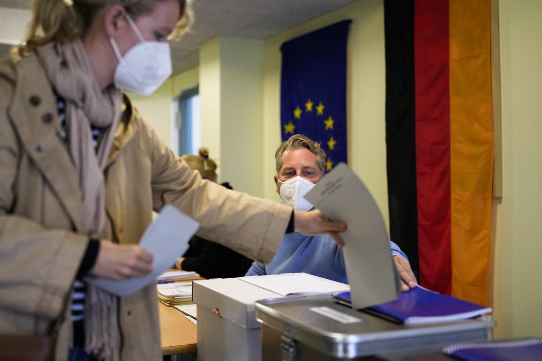 Seggio elettorale a Berlino