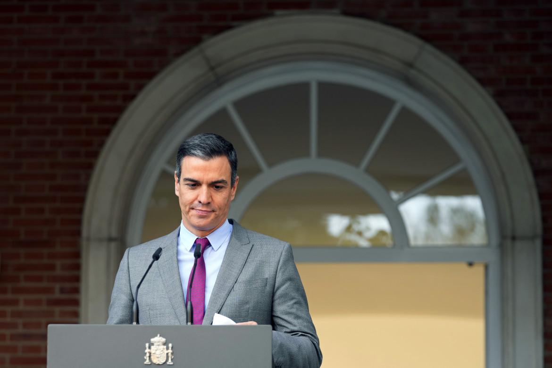 Il premier spagnolo Pedro Sánchez