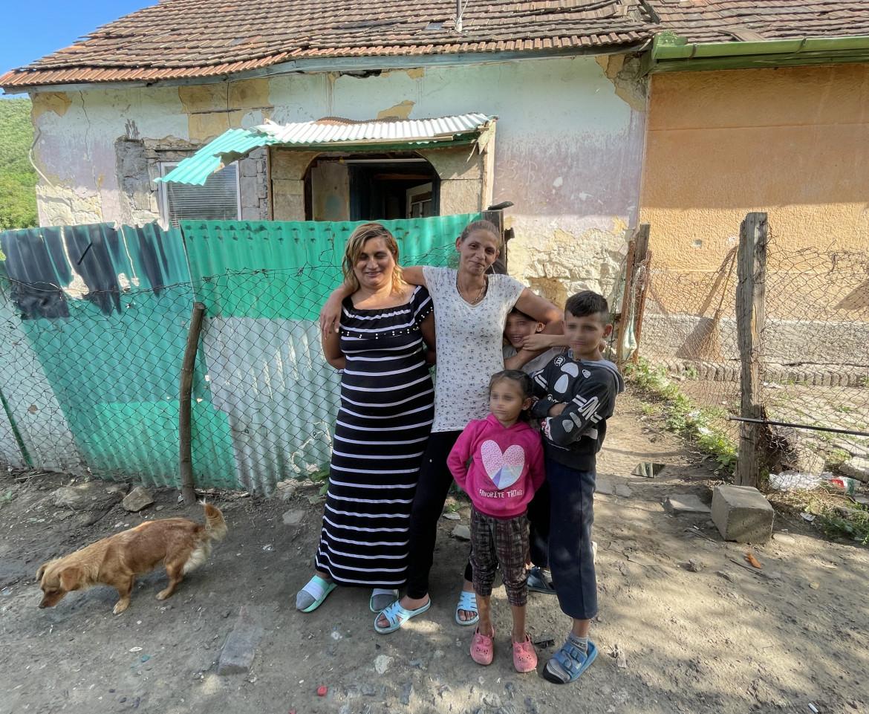 Famiglia rom di Ózd