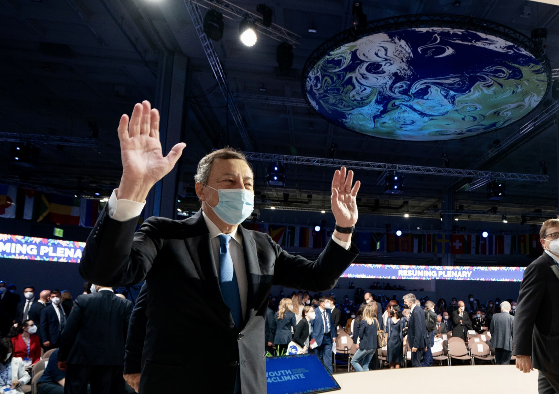 Mario Draghi al Youth4Climate a Milano