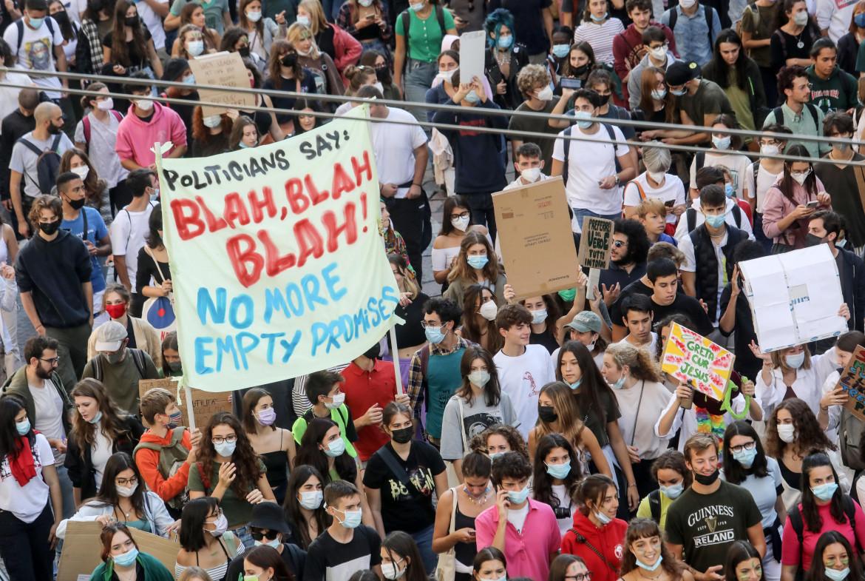 Manifestazione per il clima a Milano