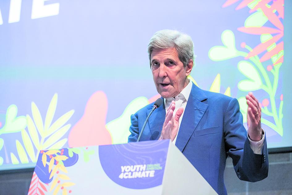 John Kerry, inviato speciale degli Stati Uniti al preCop26