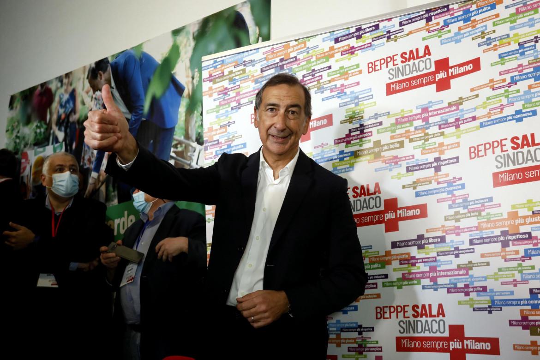 Il sindaco di Milano Beppe Sala