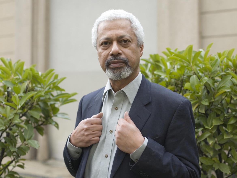 Un ritratto di Abdulrazak Gurnah, foto di Getty Images