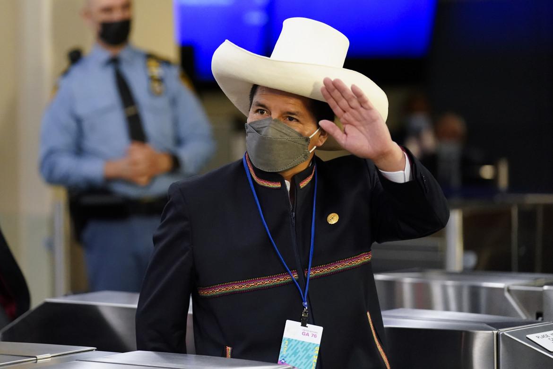 Il presidente Pedro Castillo