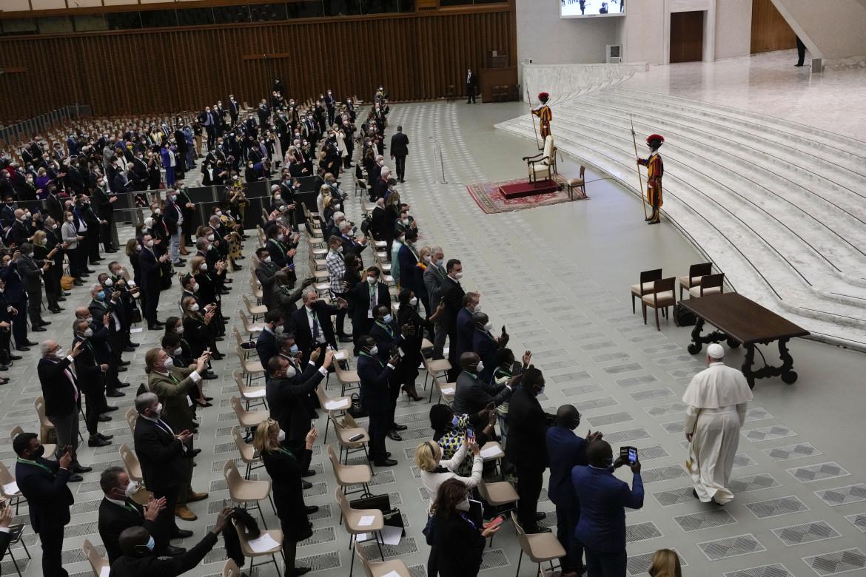 L'incontro in Vaticano in preparazione del Cop26