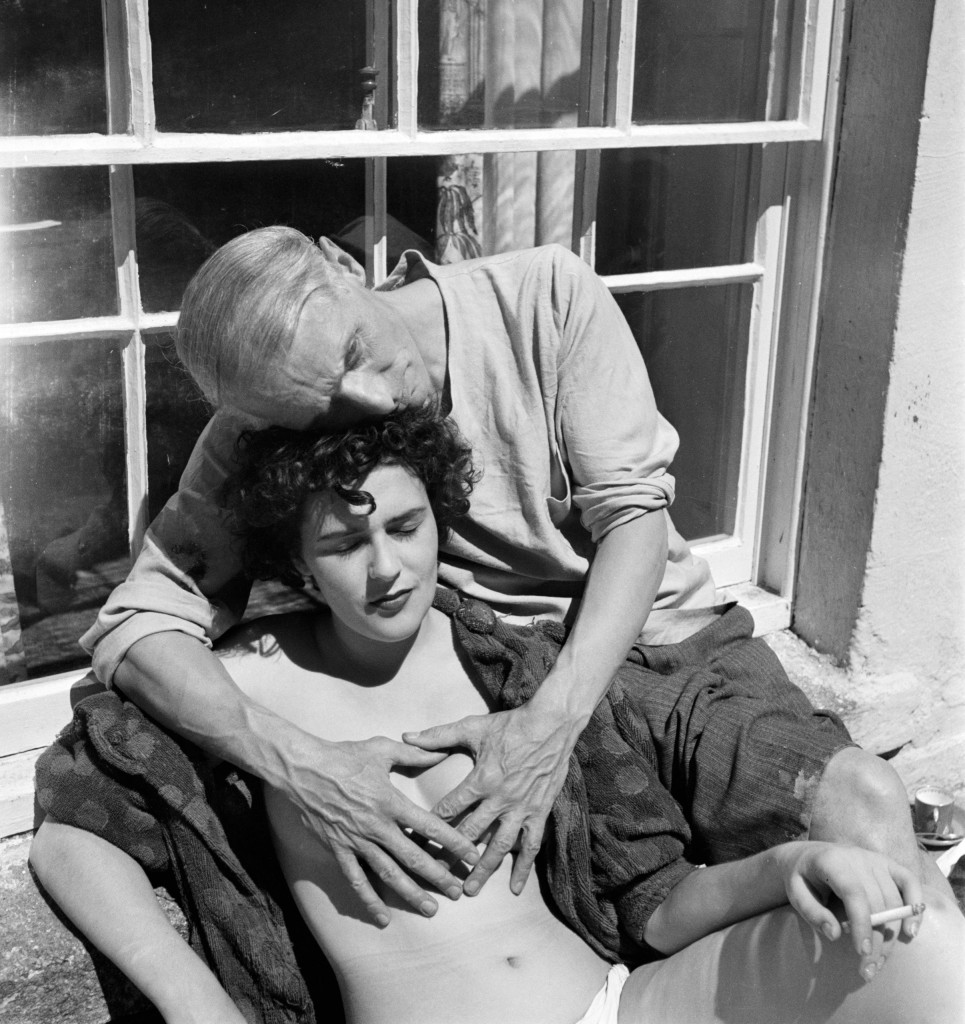 Max Ernst con Leonora Carrington, foto (anni trenta) di Lee Miller
