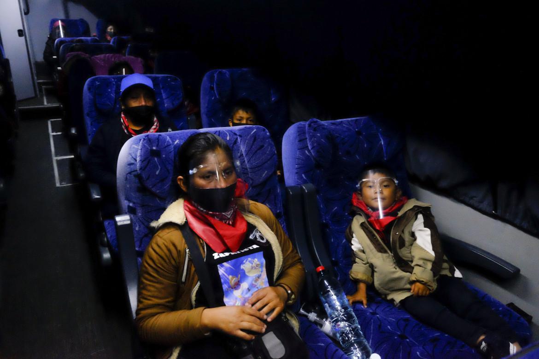 La partenza dal Messico della delegazione zapatista