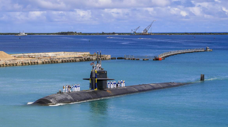 Sottomarino Usa a Guam