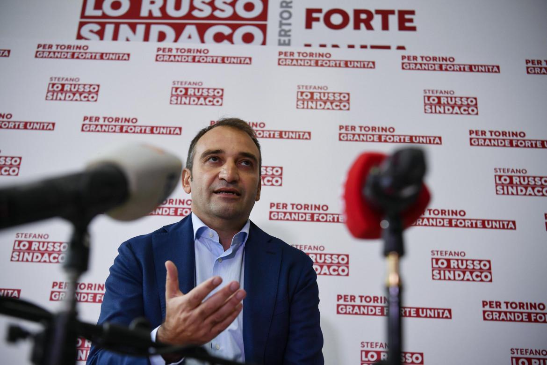Il candidato Pd Stefano Lo Russo