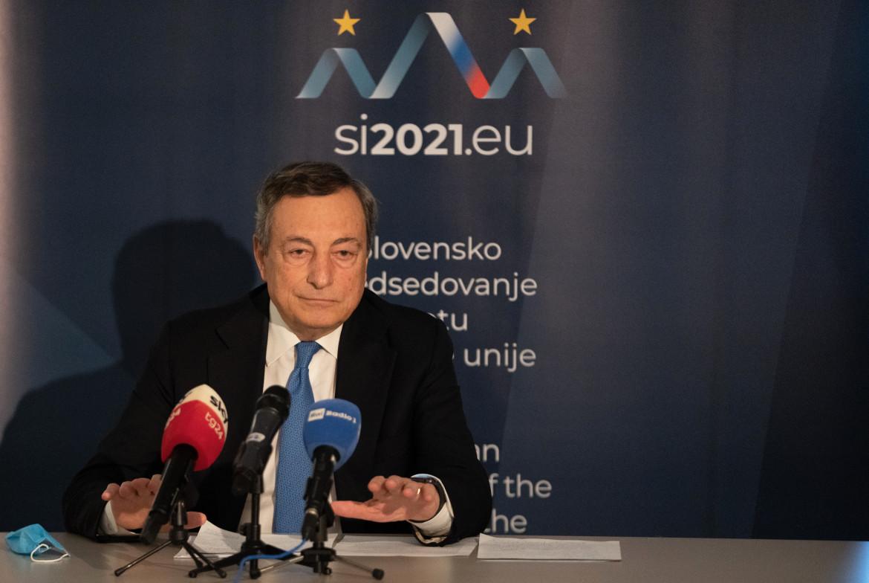 Mario Draghi al Vertice dei membri del Consiglio europeo e al Vertice UE-Balcani occidentali