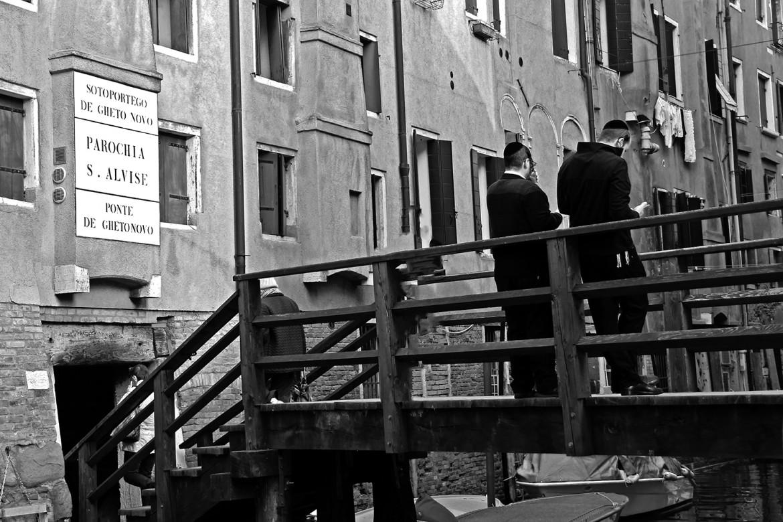 Una veduta attuale  del «ghetto» ebraico  a Venezia