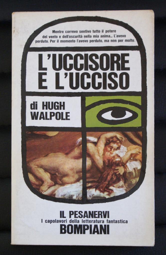 Una copertina della storica collana Bompiani «Il Pesanervi»