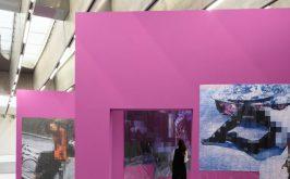 The Purple Line il muro che costringe allo sguardo