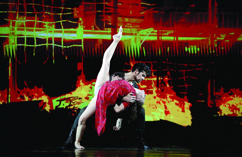 Antonella Albano e Roberto Bole in  «Medina»