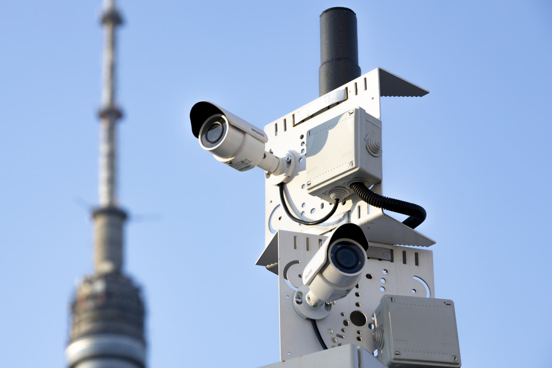 Telecamere di sorveglianza a Mosca