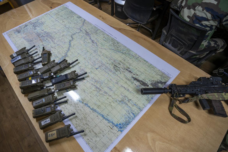 Nella base della forza Barkhane a Gao, in Mali