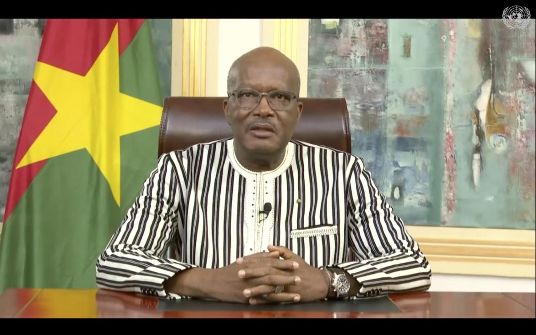 Il presidente del Burkina Faso, Roch Marc Kaboré